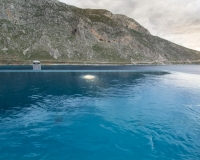 Private spa pool.